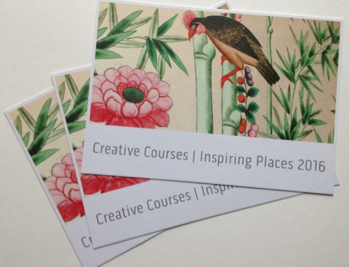 Creative Courses | Inspiring Places 2016